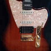 Beautiful Warmoth Jazzcaster Strato Stratocaster