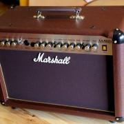 Marshall AS50D (ampli de acústica y voz) + footswitch + cubierta