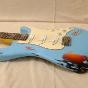 Stratocaster por partes