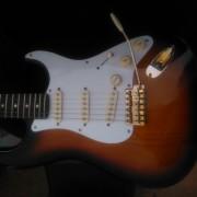 Strato partscaster basada en Fender AM standard