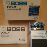 "Delay Boss DD-3 DD3 (""blue label"" made in Japan)"