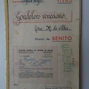 Partituras repertorio clásico español