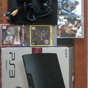 PS3 320Gb + 2 Mandos + 5 Juegos