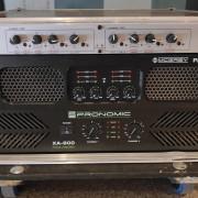 Etapa de potencia Pronomic XA-800, 2 unidades, impecables