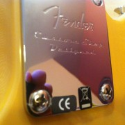 Telecaster Baja modificada con hot rails y clavijeros de bloqueo (incluyo estuche rígido Fender, y las pastis originales