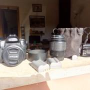 camera reflex Nikon D80+objetivos y acesorios