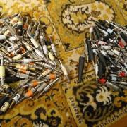 Lote 164 conectores JACK TRS y JACK TS usados