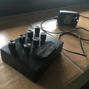 Coron  ds8 percusión synth CV and Gate in