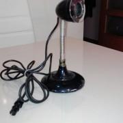 Microfono antiguo de mesa tannoy 1955