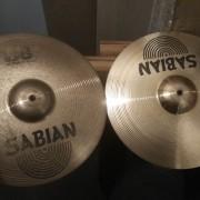 Hi hat sabian b8