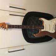 O cambio por portátil Fender Strato México del 98' Super-Vitaminada