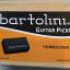 Bartolini PBF-55 Rock/Jazz Neck Humbucker Guitar Pickup, Black Cover, 4 Conductor