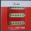 Pastillas Fender 57/62 Strato Pickup Set.
