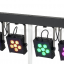 4 sets Stairville CLB8 RGBW Compact LED Bar 8 DMX 8w/led muy brillantes.