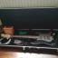 Guitarra eléctrica, amplificador y estuche rígido