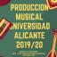 UNIVERSIDAD DE ALICANTE_ CURSOS DE PRODUCCION MUSICAL