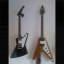 Guitarras Epiphone Explorer korina y flying-v