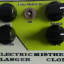 Pedal para guitarra eléctrica Flanger Electric Mistress Clone