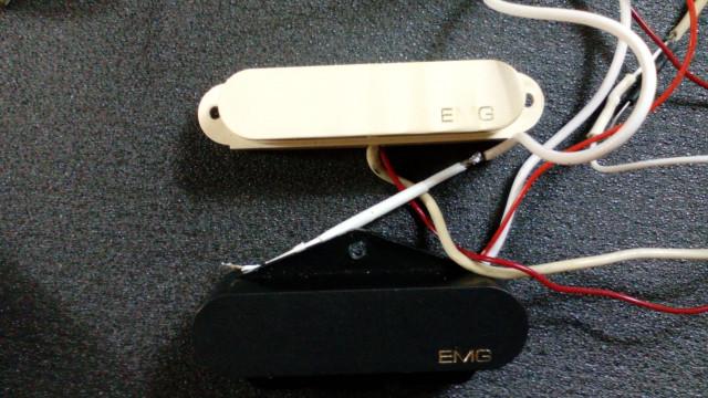 EMG T SET (Telecaster) - Vendo por separado - Puente nueva