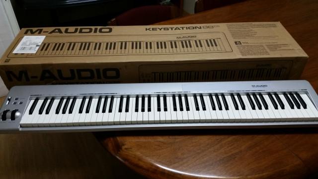 teclado m-audio