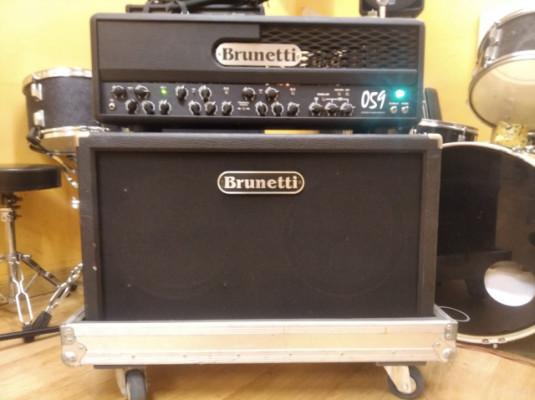 Brunetti 059 + 212 original con flightcase.
