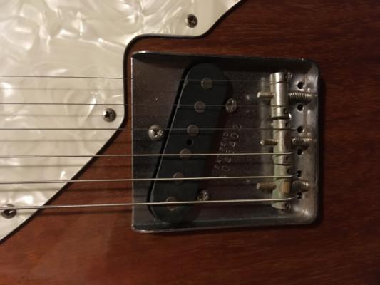 Fender Telecaster Thinline Reissue 69 MIJ 1985
