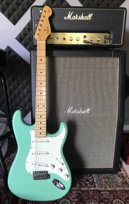 Stratocaster Tokai AST88 Seafoam Green made in Japan. Con estuche.