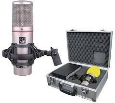 Un clásico Microfono de valvulas Akg Solidtube
