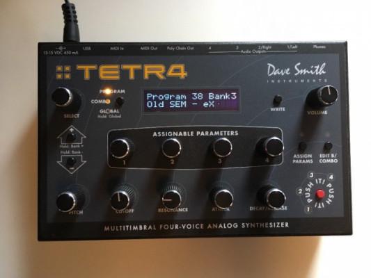 Dave Smith Tetra (DSI Tetr4) + Editores