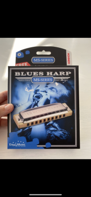 Armónica Hohner Blues Harp MS A