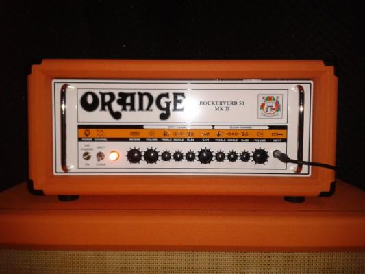 Orange Rockerverb 50 watt Mark II y Pantalla Orange PPC 4x12