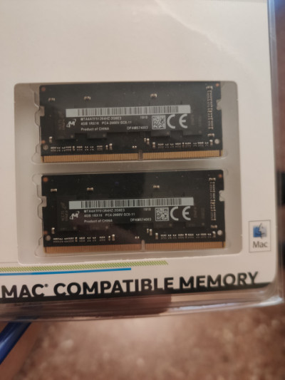 Memoria Ram Apple iMac 2019 8GB (2x4GB) 2666 Mhz