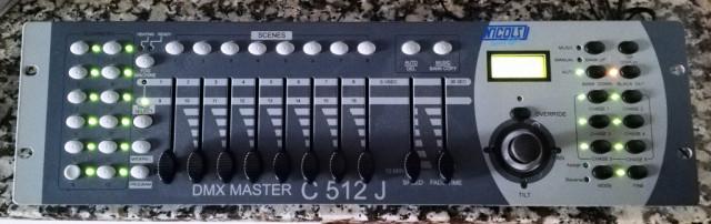 Console dmx 16 canales C 512J