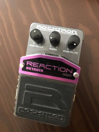 Rocktron reaction octavador