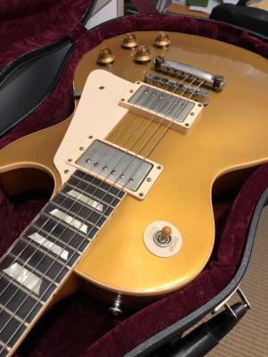 Gibson Les Paul Reissue 57 Custom Shop Gold Top VOS (R7) - Estado excelente