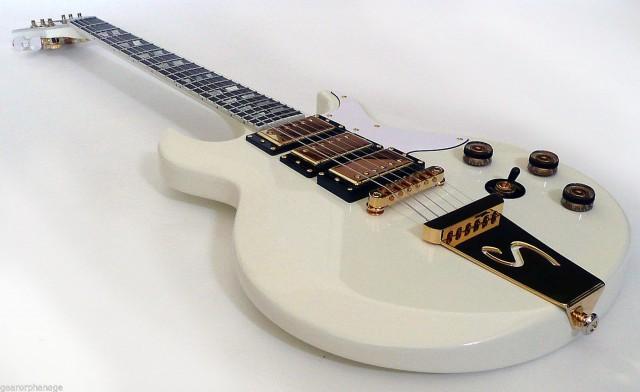 Schecter DIAMOND SERIES S-1 Custom-III Vintage White