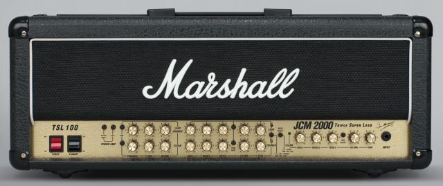 Marshall JCM 2000 TSL 100W + pedal de 5 conmutadores + Flycase