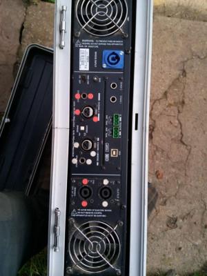 Ecler DPA 2000 + Tarjeta Amic + Rack 2u