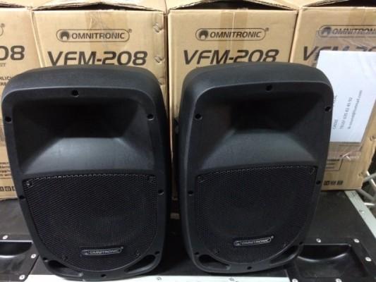 Pareja altavoces Omnitronic VFM-208