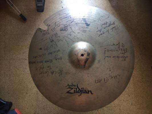 """Zildjian Avedis Custom Ping Ride 22"""" Radio Birdman"""