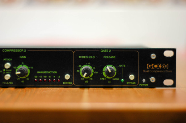 Compresor dual LA Audio GCX20