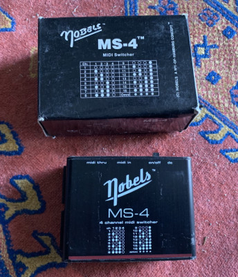 Nobels MS-4 midi switcher