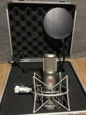 Micrófono condensador SE 2200