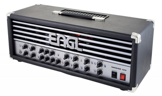 ENGL Savage 120 + flightcase + pedal