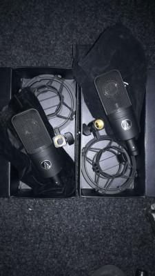 Audio Technica AT4040 Par de Micrófonos de Condensador