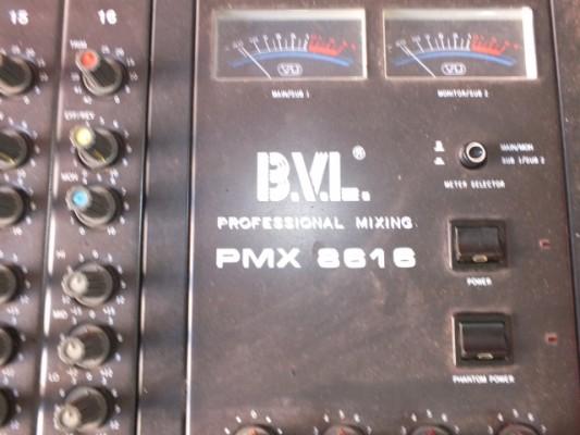 BVL PMX  8616  AÑO 1970  Funciona todo y lleva reverd incorporada