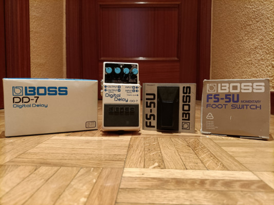 Boss DD7 + Boss FS-5U