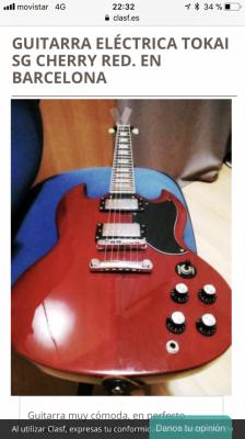 Guitarra eléctrica Tokay ????