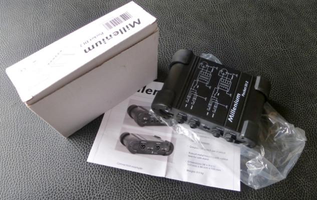Caja de inyección pasiva 2 canales. Millenium DI 2. Nueva.
