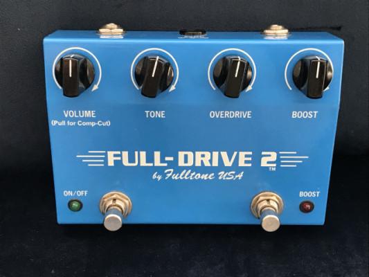 Fulltone Fulldrive 2  1ª versión ( pull comp cut)